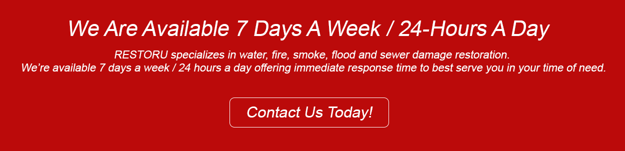 Call RestorU 24-hours a day for emergency services