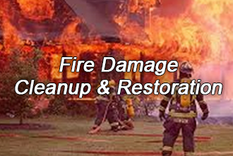 Fire Smoke Damage cleanup and restoration services across Northern Wisconsin from offices in Neenah (Menasha Appleton), Park Falls and Wausau WI, smoke odor removal