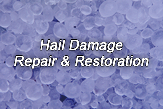 Hail damage repairs and restoration services