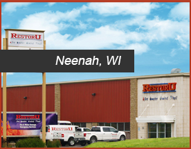 RestorU Neenah Wisconsin location servicing Northeast Wisconsin