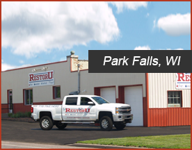 RestorU Park Falls, Wisconsin location servicing Northwest Wisconsin