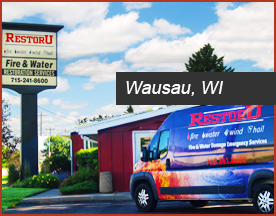 RestorU Wausau Wisconsin location servicing Northcentral Wisconsin Restoration Services